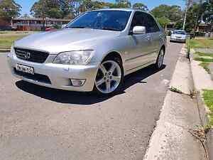 Lexus is300  Auto rego 27-4  184km Sydney City Inner Sydney Preview