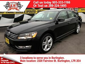 2015 Volkswagen Passat Highline, Auto, Navi, Leather, Sunroof, 4