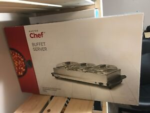 Brand new in box Buffet Server