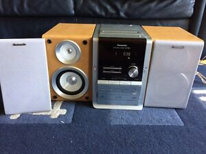 CD/MP3 stereo system