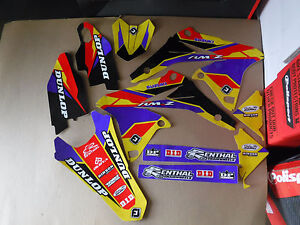 FLU DESIGNS  TEAM GRAPHICS  SUZUKI  RMZ250 2010 2011 2012 2013 2014 2015 2016 17