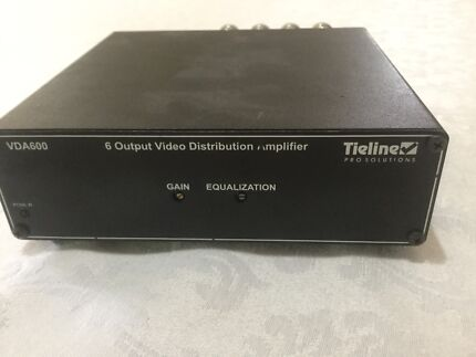 2x video distribution amplifiers