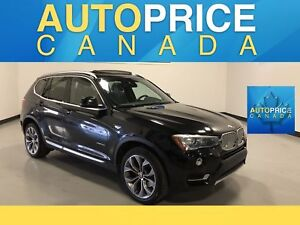 2015 BMW X3 xDrive28i NAVIGATION|PANOROOF|LEATHER