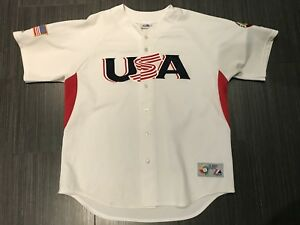 Majestic 2009 Team USA World Baseball Classic Jersey