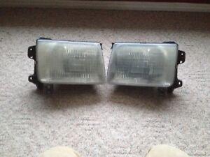 2000 Nissan  frontier head lights