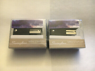 Lot Of 2 - Swingline Mini Stapler - New In Package