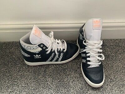 adidas high tops Trainers Size 6