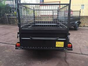 7X4 HI SIDE 600MM CAGE HEAVY DUTY 12 MONTHS PRIV REGO $1350 Hunters Hill Area Preview