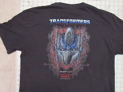TRANSORMERS Age Of Extinction T-SHIRT Mens L Cinetopia Theater Promo Exclusive