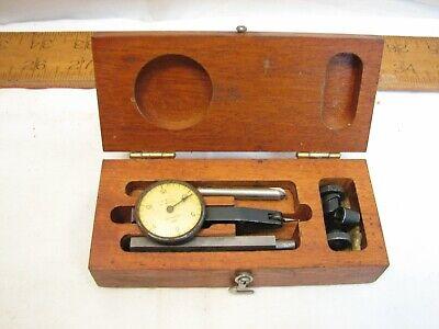 Brown & Sharpe Model One Dial Test Indicator Gauge +Box .001 Gage Machinist Tool