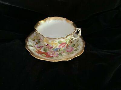 Hammersley Queen Anne Teacup Tea Cup Saucer