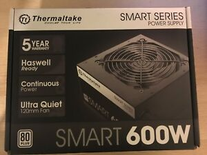 Thernaltake smart 600w psu BNIB