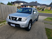 2011 Nissan Navara  ST D40 (4X4) low kms Point Cook Wyndham Area Preview