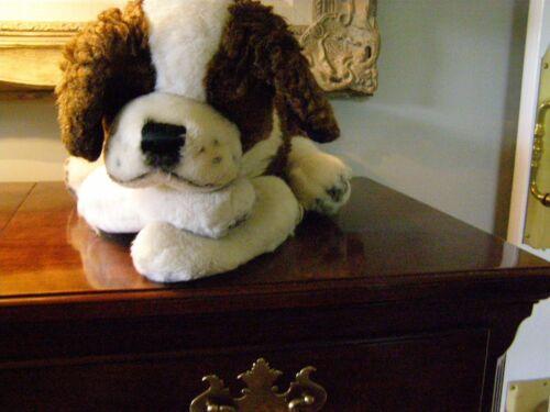 Steiff - reclining St. Bernard puppy (soft/plush)