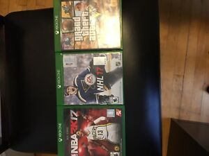 Xbox games , 12 month gold