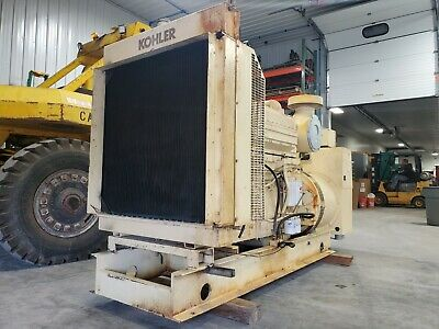 400 Kw Cummins Kta19g2 Kohler Diesel Generator 480 V Load Bank Tested Serviced