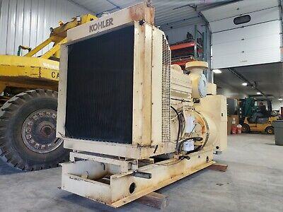 400 Kw Cummins Kta19g2 Kohler Diesel Generator 480 V Load Bank Tested Serviced