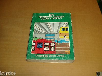 - 1978 Dodge Sportsman Van Wagon Plymouth Voyager B150 B250 service shop manual