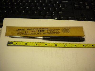 Starrett 248b 316x8 Drive Pin Punch Edp 51182