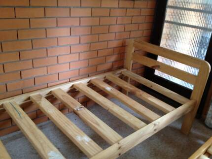 Single bed with mattress for sale A$50
