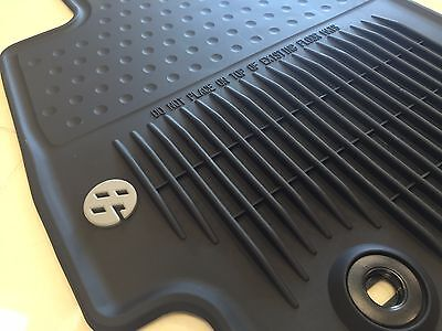 2013-2017 TOYOTA 86 FR-S ALL WEATHER RUBBER FLOOR MATS GENUINE PT908-18170-20