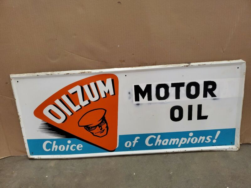 Oilzum Motor Oil Gas Oil Vintage Collectable