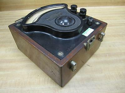 General Electric 1244019 Vintage Industrial Amp Meter Wo Lid Antique
