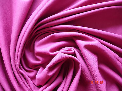 1 Laufmeter Jersey 3,00€/m² reine Baumwolle cyclam CK20