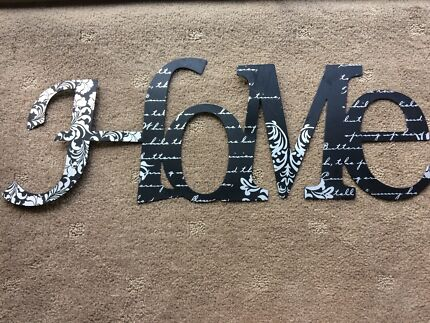 Home wall metal plaque