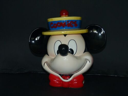 Mickey Mouse with Straw Hat Cookie Jar