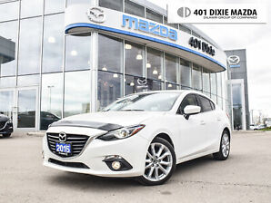 2015 Mazda Mazda3 GT|NO ACCIDENTS|ONE OWNER|1.9% FINANCING AVAILABLE