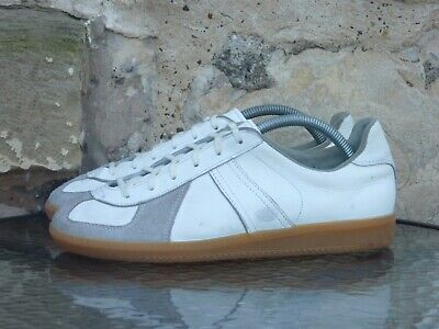 Vintage 1980s German Army Trainers UK 8 265 Manufactured By Adidas GATs BW SPORT