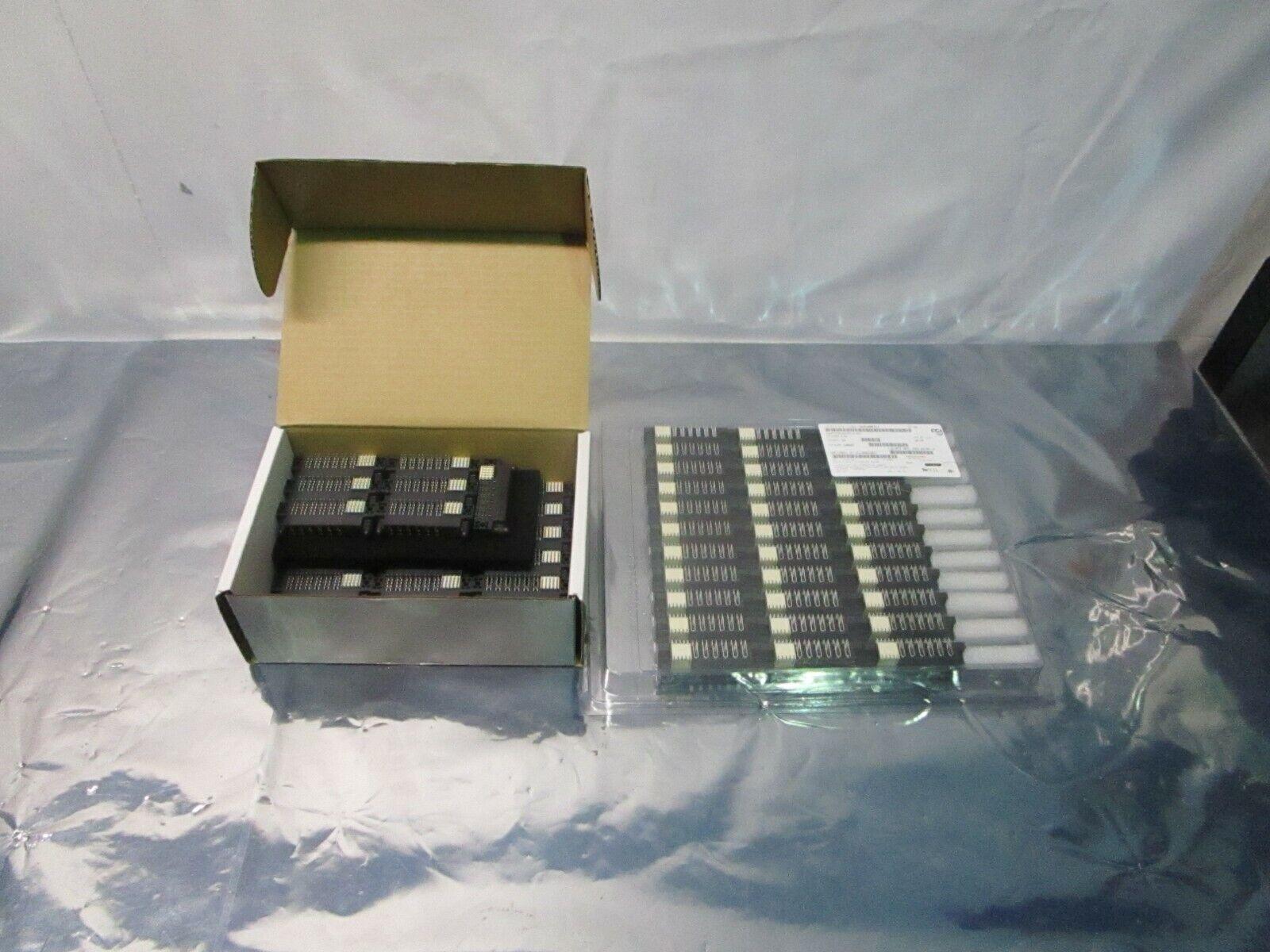 1 Lot of 58 FCI 51762-10602000CBLF PWRBLADE R/A LF REC, 102319