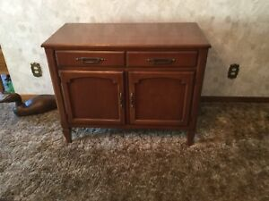 WALNUT SIDEBOARD/BUFFET. . $100.00