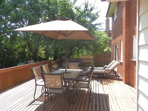 Toronto Vacation Rental 4 Bedroom House Private Great Location