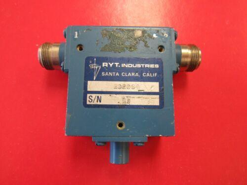 RYT 1.5-2.7GHz Isolator Model 202064, Type N