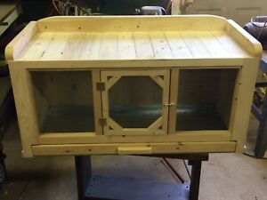 Custom made small animal cage