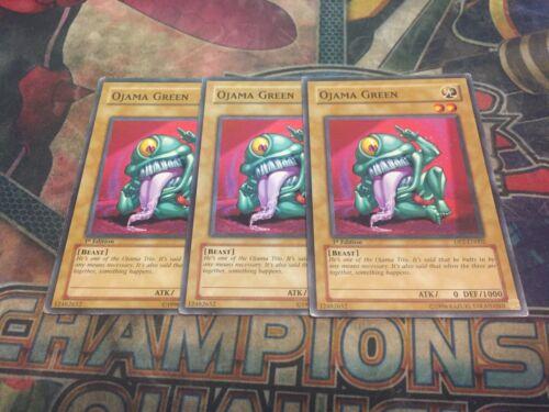 Common! X3! Yu-Gi-Oh Ojama Yellow DP2-EN003