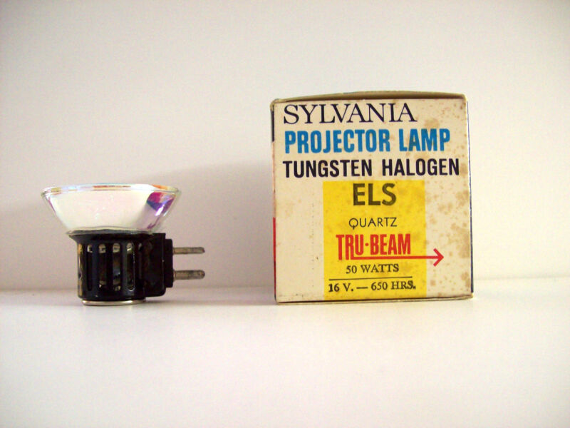 ELS Projection Projector Lamp Bulb 50W 16V Sylvania Brand *AVG. 650-HOUR LAMP*
