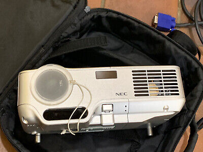 NEC NP40 2200 Lumens DLP XGA Multimedia Projector (76% lamp life remaining)