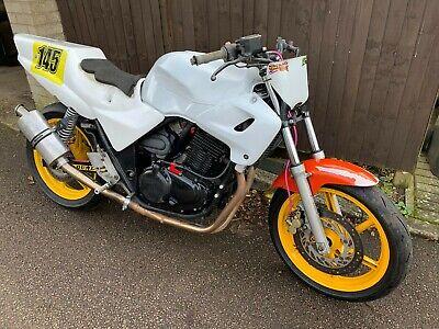 honda cb500 track bike