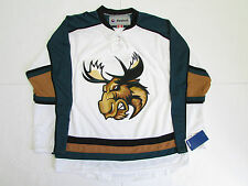 MANITOBA MOOSE AHL WHITE REEBOK PREMIER HOCKEY JERSEY SIZE MEDIUM
