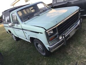 1980 Ford f100 running and driving