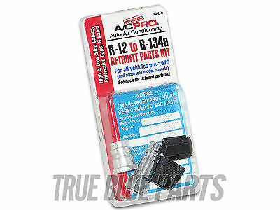 Automotive AC Retrofit Kit From R12 to R 134a For All Vehicles Pre 1976