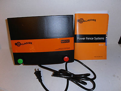 New Gallagher Power Plus M600 Low Impedance Electric Fence Energizer