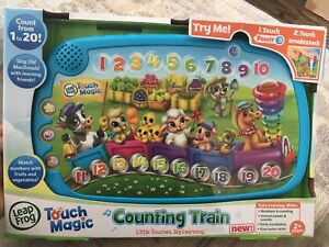 Leap Frog Learning Touch Magic Counting Train