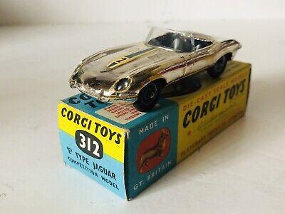 Usado, Corgi N° 312 Jaguar E Type Competition Model Con caja original segunda mano  Abrera