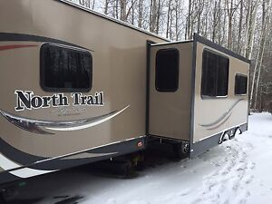 2014 NorthTrail 31BHDD bunk trailer