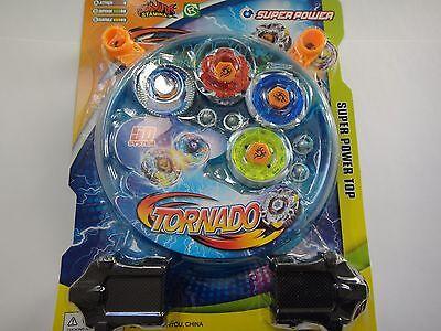 Rare 4D Lian Fa Toys Metal Fusion Beyblade Clash Tornado Speed Top Set US Seller
