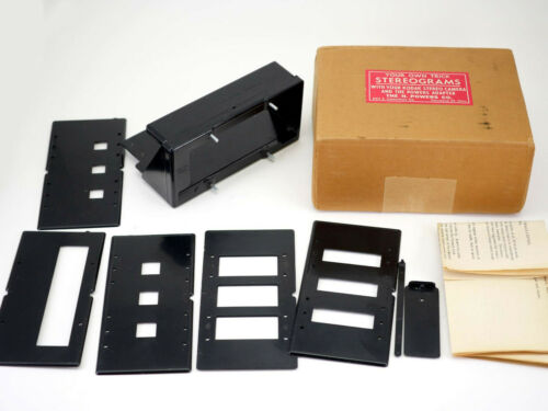 Trick Adapter for Kodak Stereo Camera H. Powers Co Vintage Illusion Stereograms